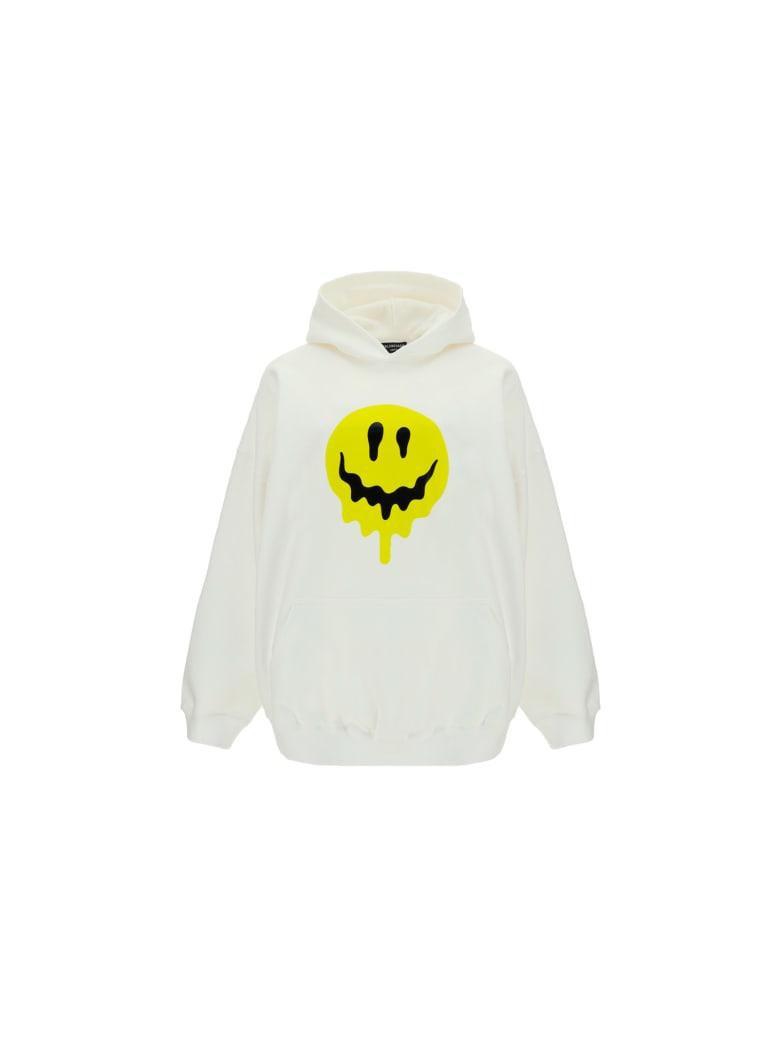 Balenciaga Hoodie - White/yellow/white