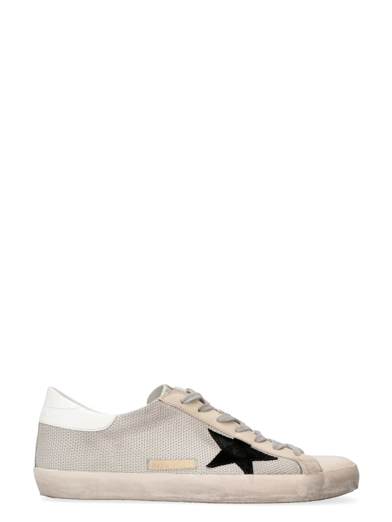 Golden Goose Superstar Fabric Low-top Sneakers - Light Silver Milk