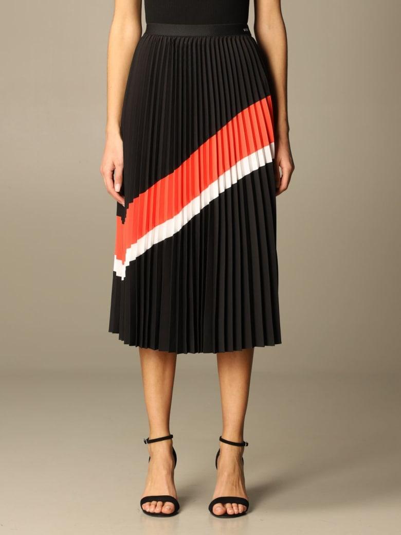 Armani Collezioni Armani Exchange Skirt Armani Exchange Pleated Midi Skirt - Black