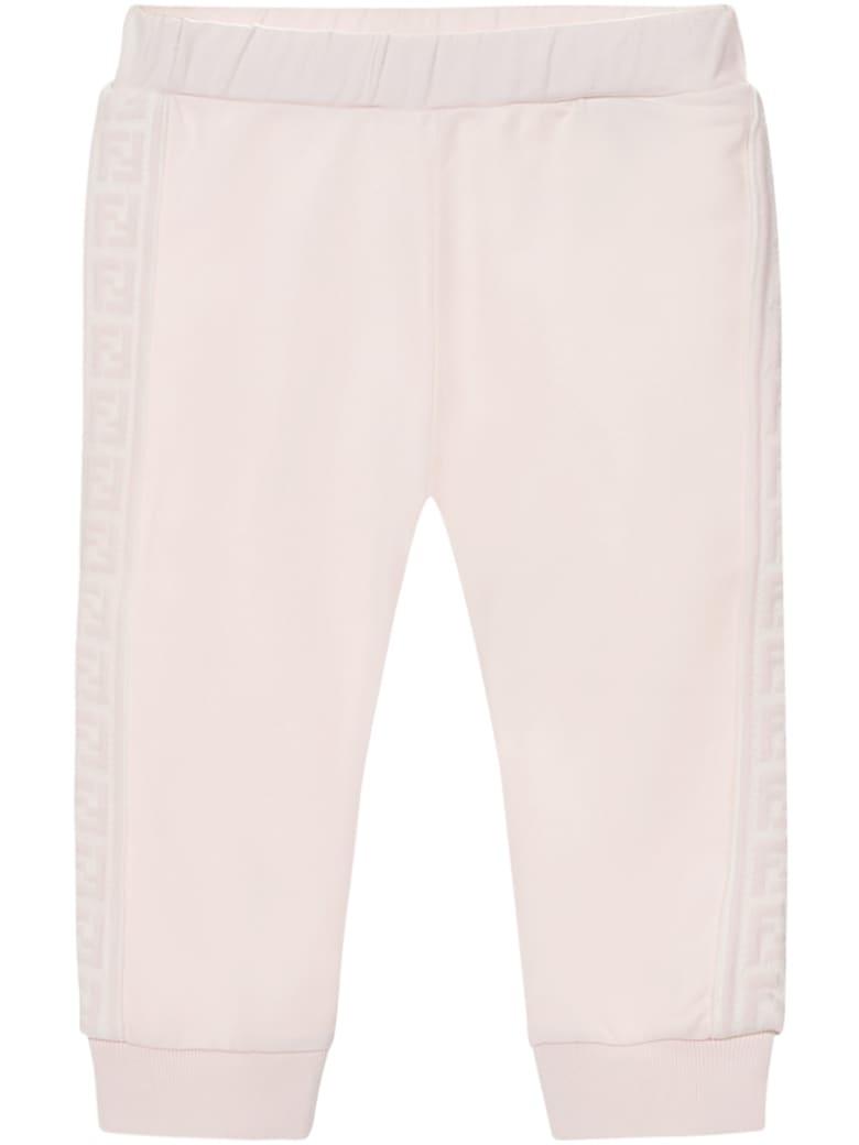 Fendi Kids Trousers - Pink
