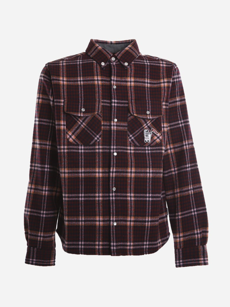 Billionaire Boys Club Check Pattern Shirt - Multicolor