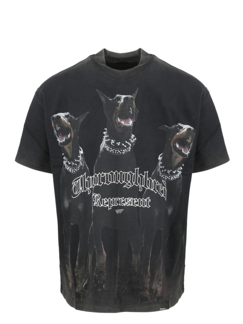 REPRESENT Thoroughbred T-shirt - Black