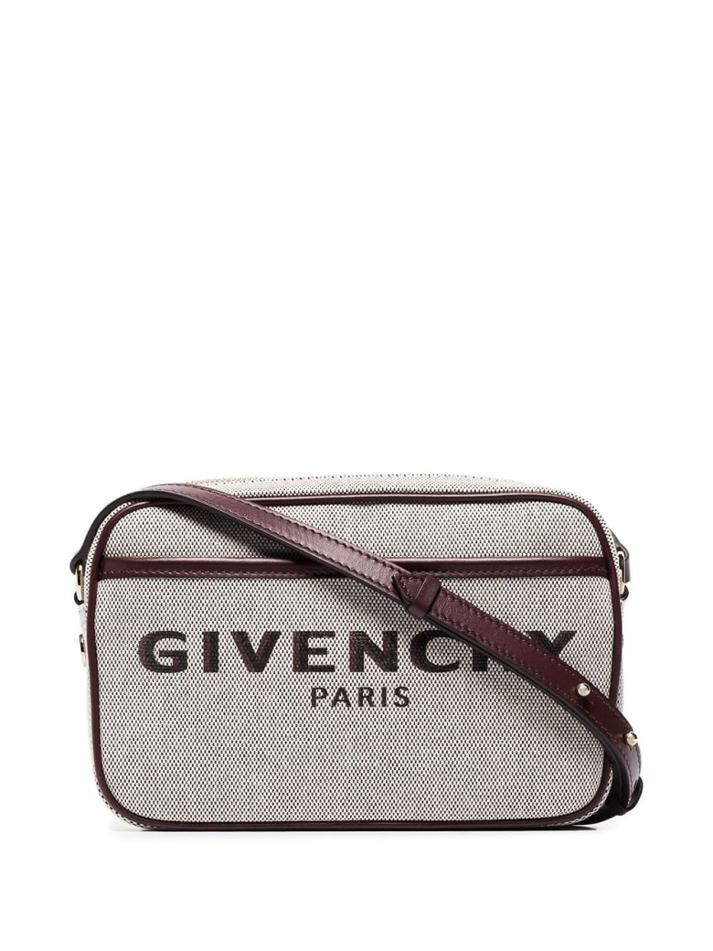 Givenchy Grey And Dark Brown Bond Camera Bag
