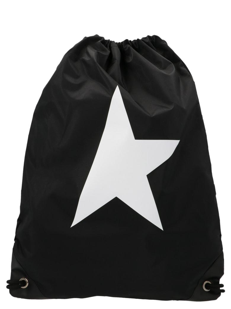 Golden Goose 'drawstring Star' Bag - Black