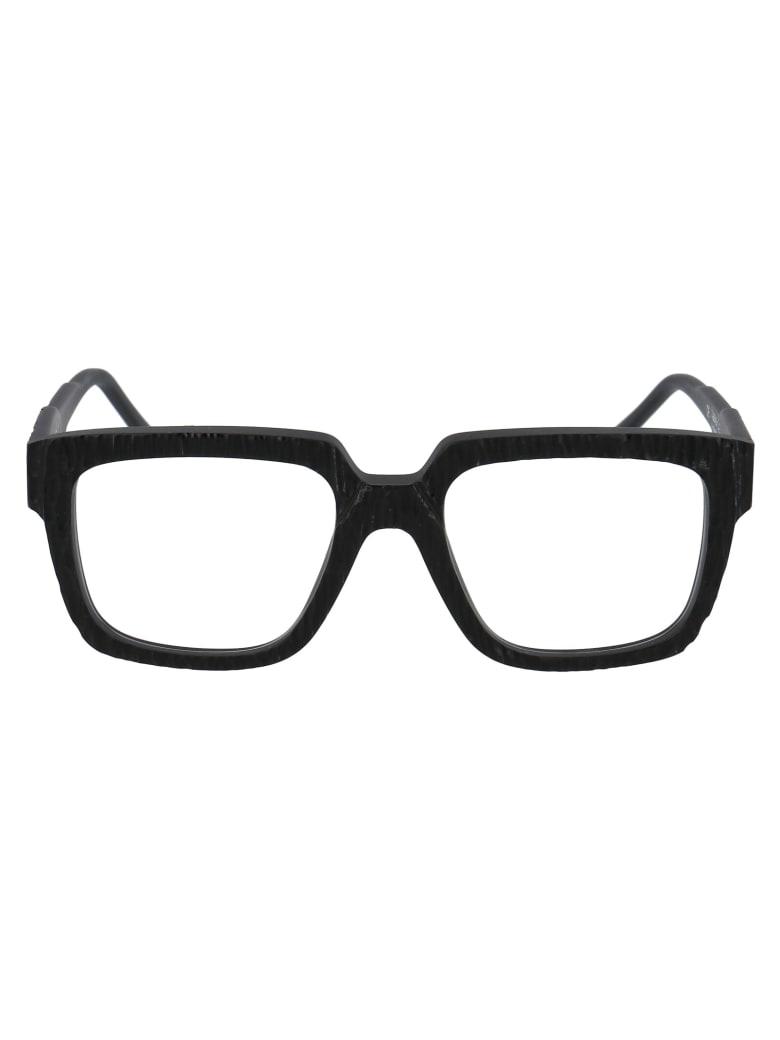 Kuboraum Maske K3 Glasses - BM D1 BLACK