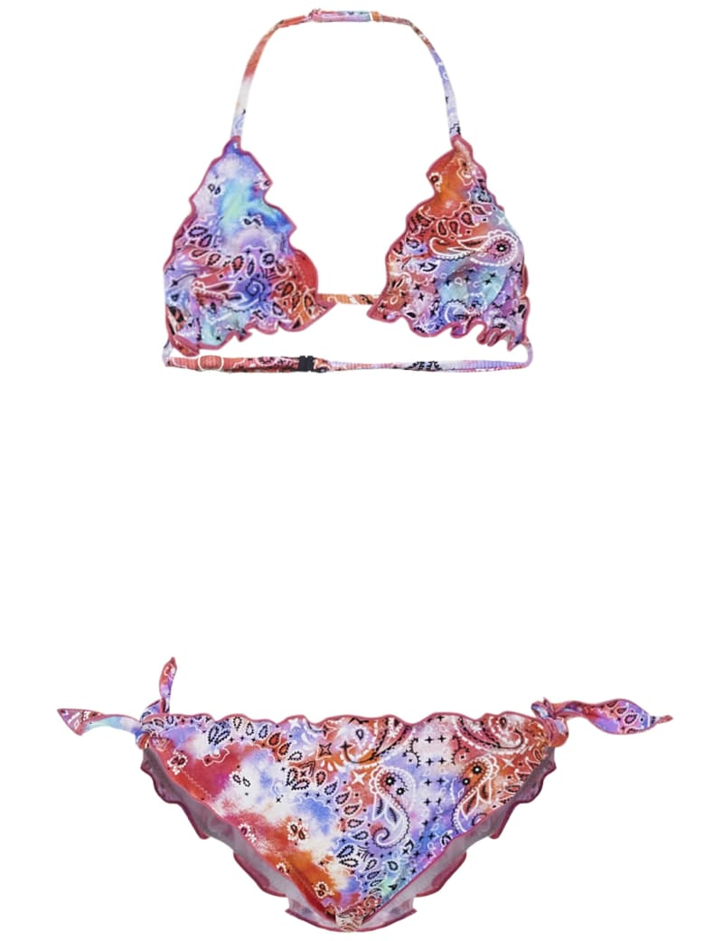 MC2 Saint Barth Bandana Tie Die Bikini - Multicolor