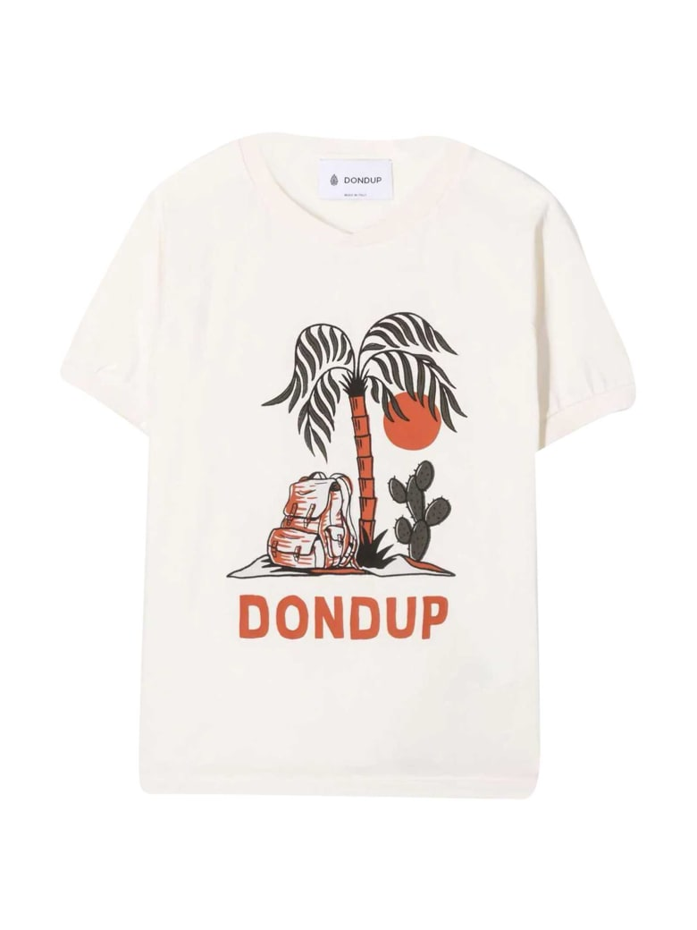 Dondup White T-shirt - Unico