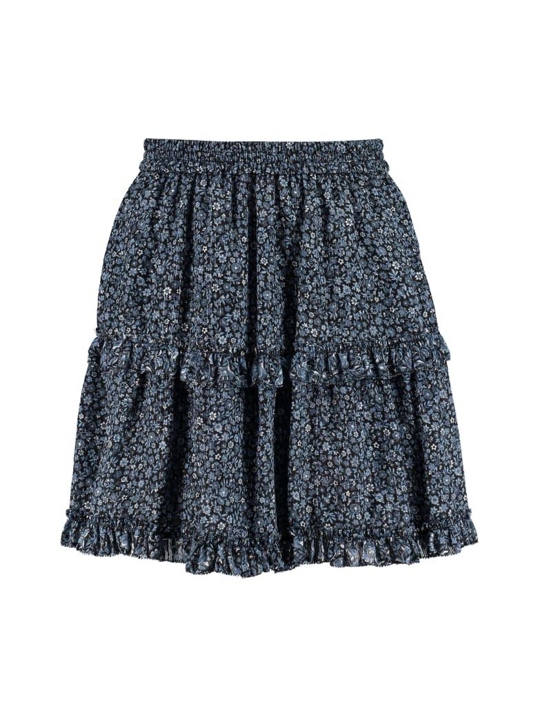 Michael Kors Floral Print Skirt - Celeste