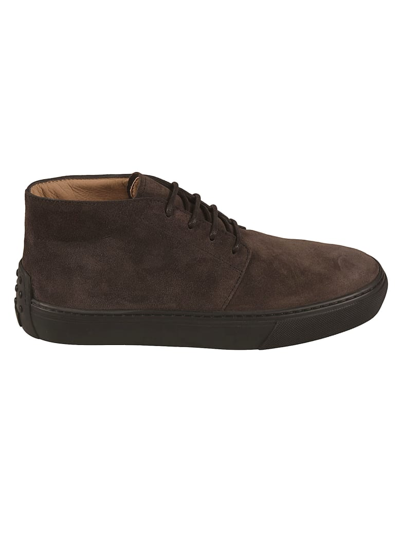 Tod's Polacco Cassetta Lace-up Boots - Brown
