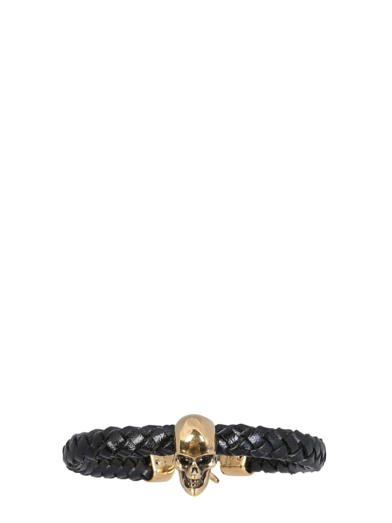 Alexander McQueen Skull Bracelet - Nero