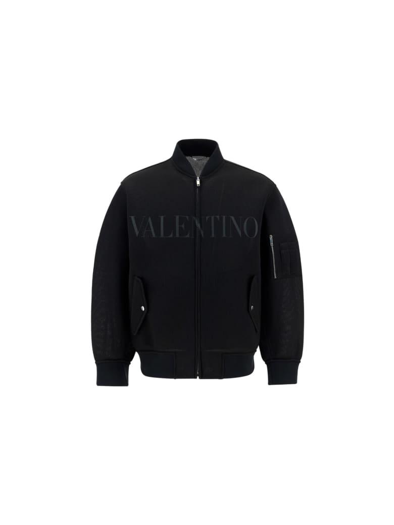 Valentino Bomber Jacket - Nero