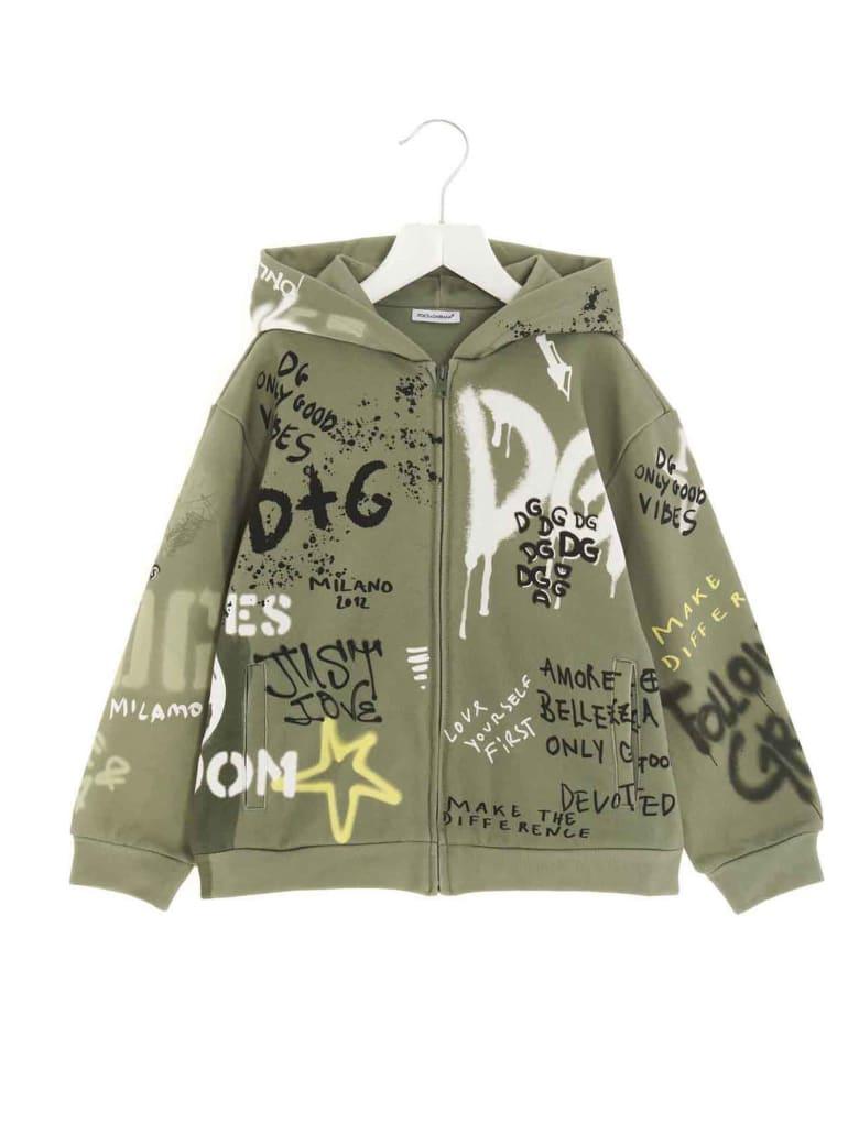 Dolce & Gabbana Hoodie - Green