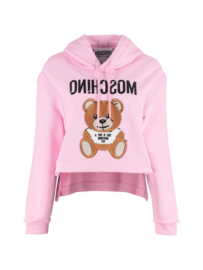 Moschino Logo Sweatshirt - Pink