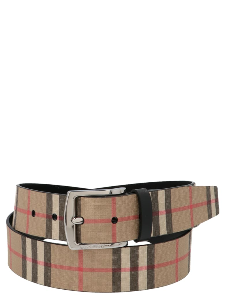 Burberry 'gray 35' Belt - Multicolor