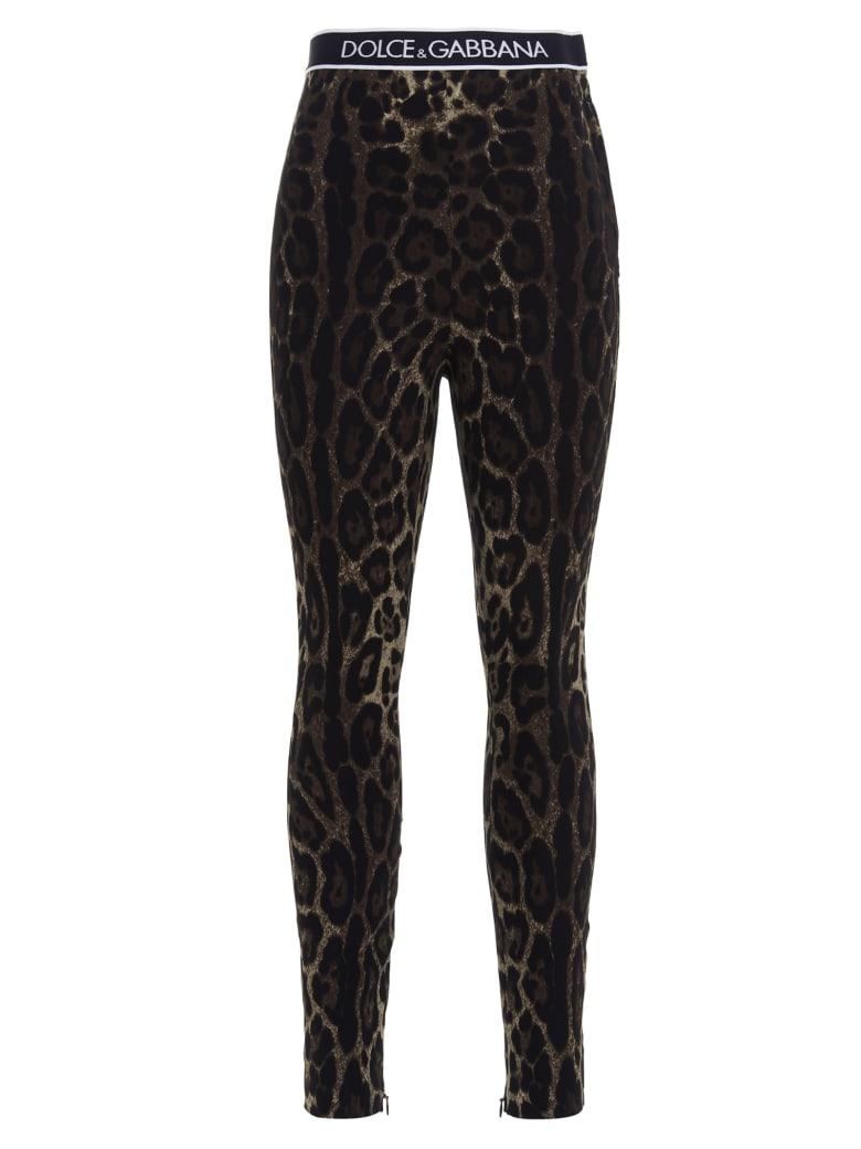 Dolce & Gabbana Leggings - Multicolor