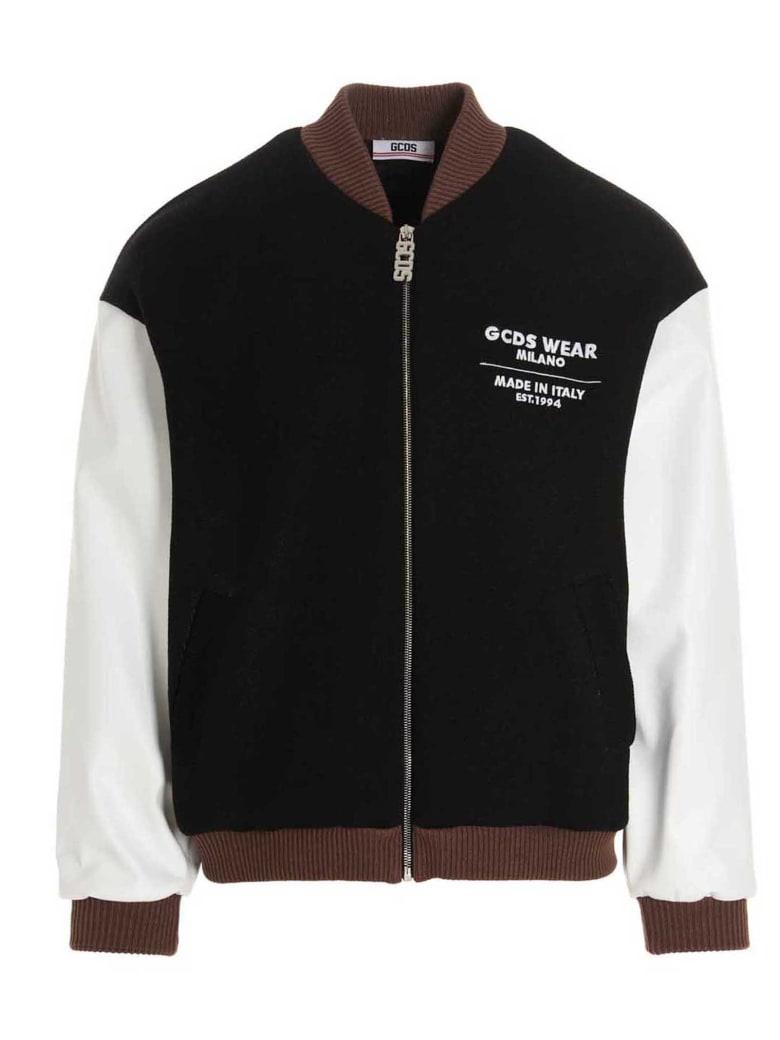 GCDS Jacket - Nero bianco