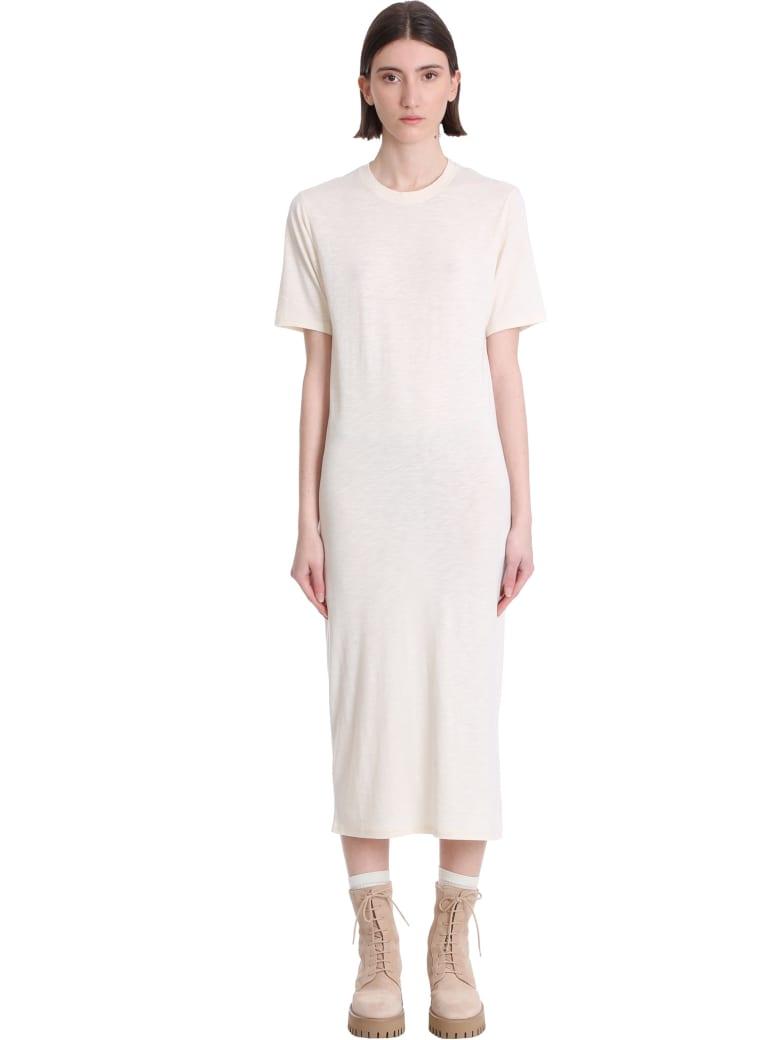 Ami Alexandre Mattiussi Dress In Beige Cotton - beige