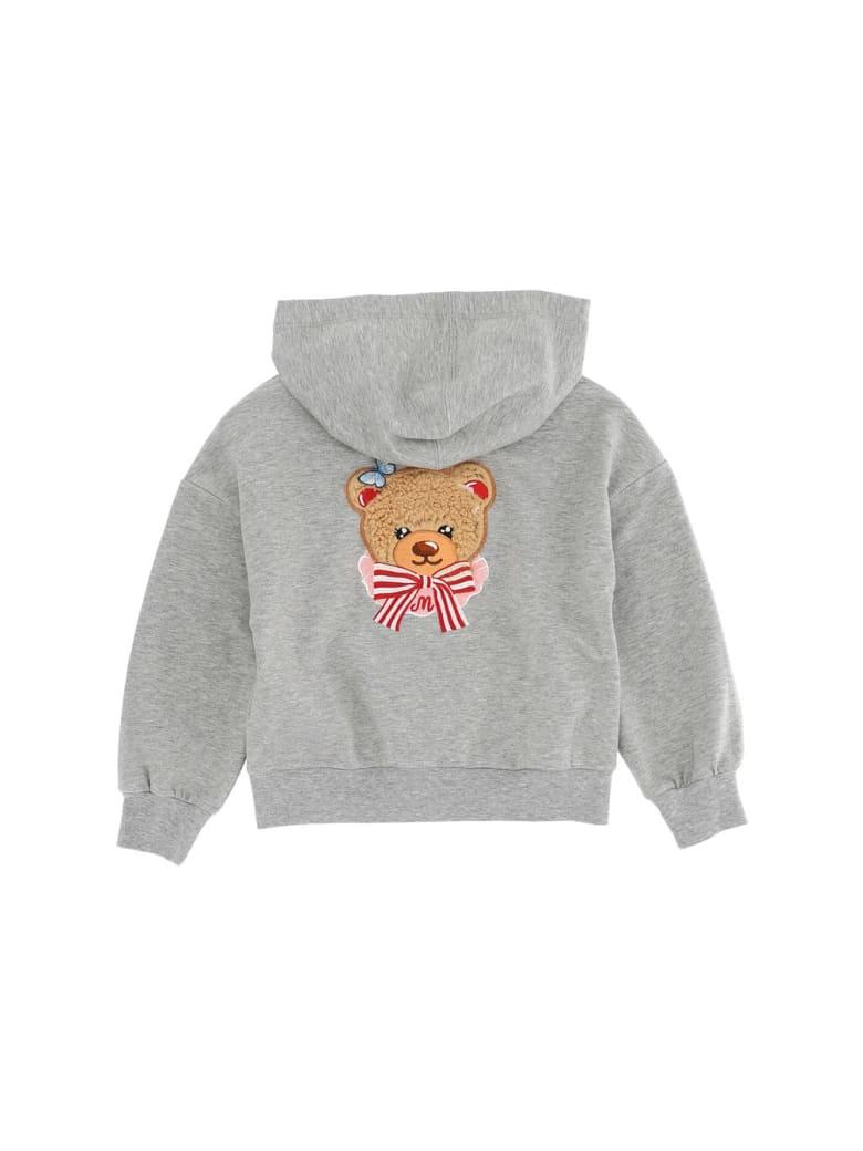 Monnalisa Bear Sweater - Grey