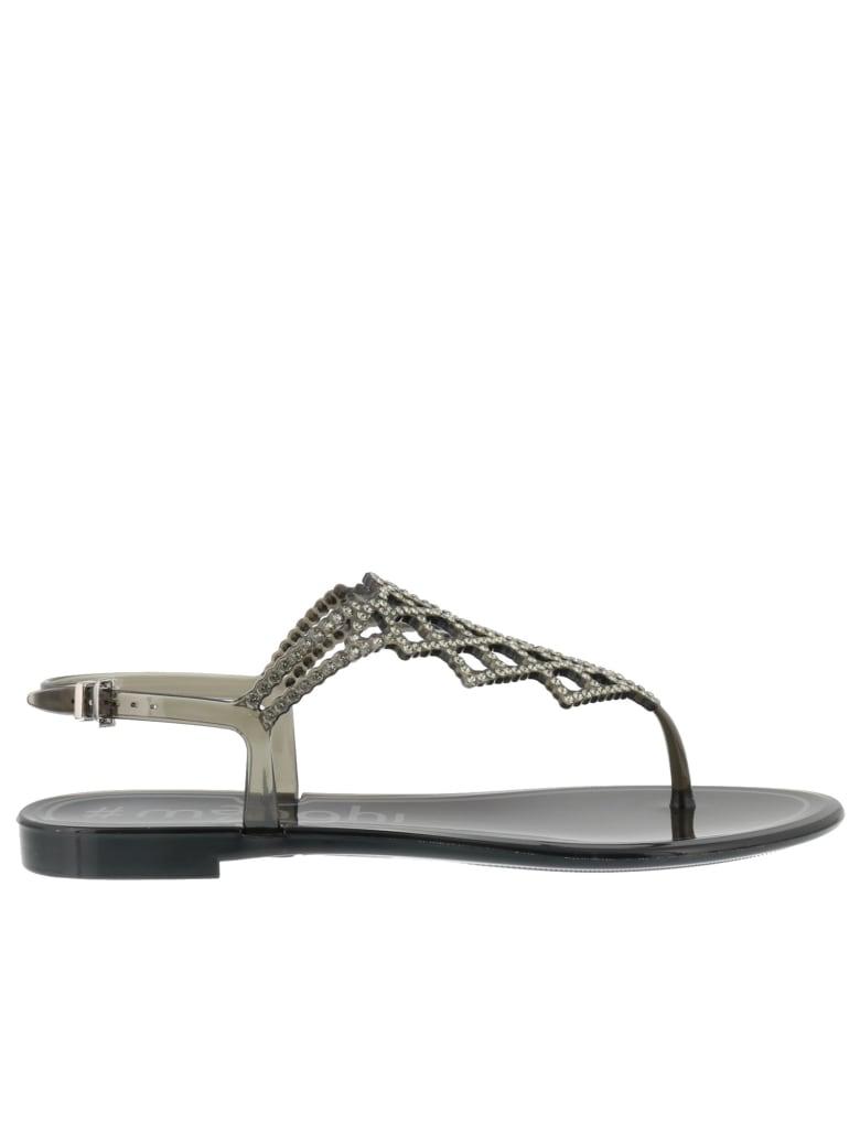 Menghi Sandals - Black