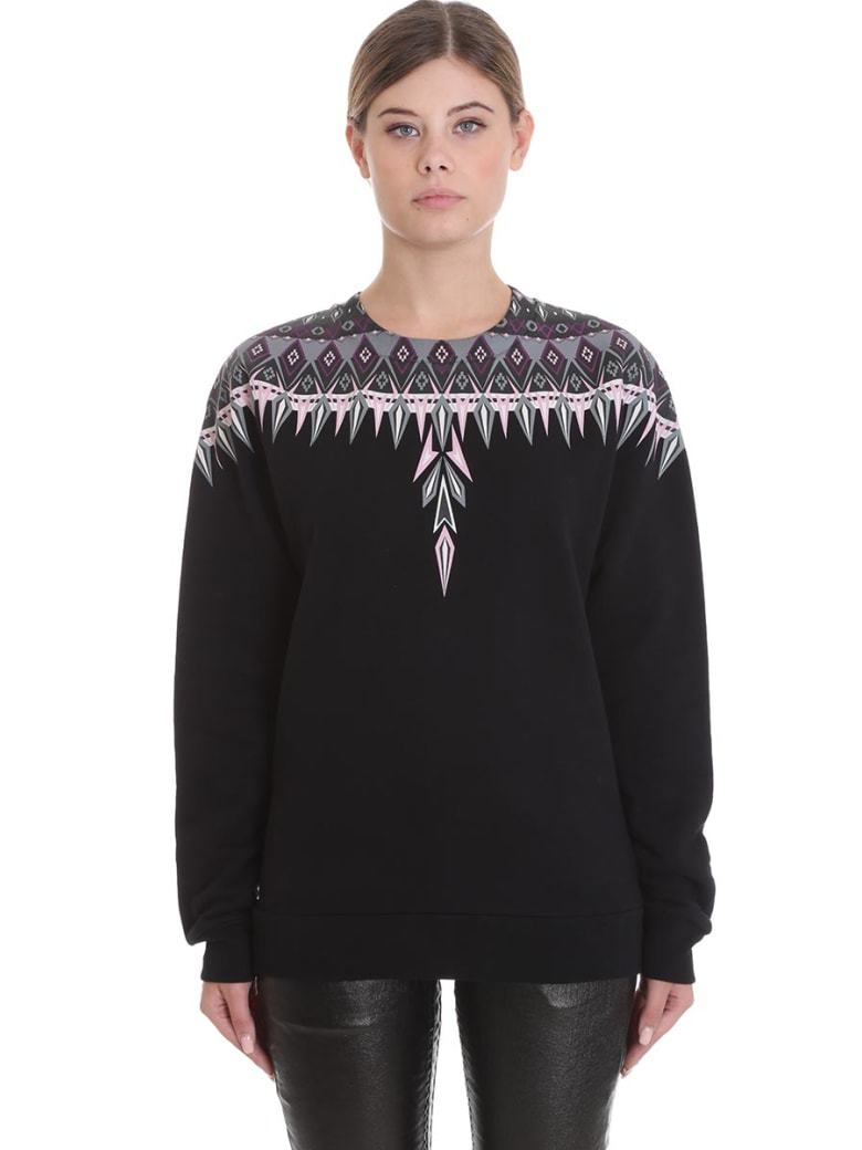 Marcelo Burlon Sweatshirt In Black Cotton - black