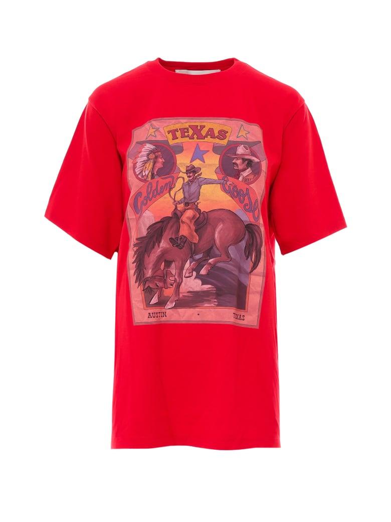 Golden Goose T-shirt - Red