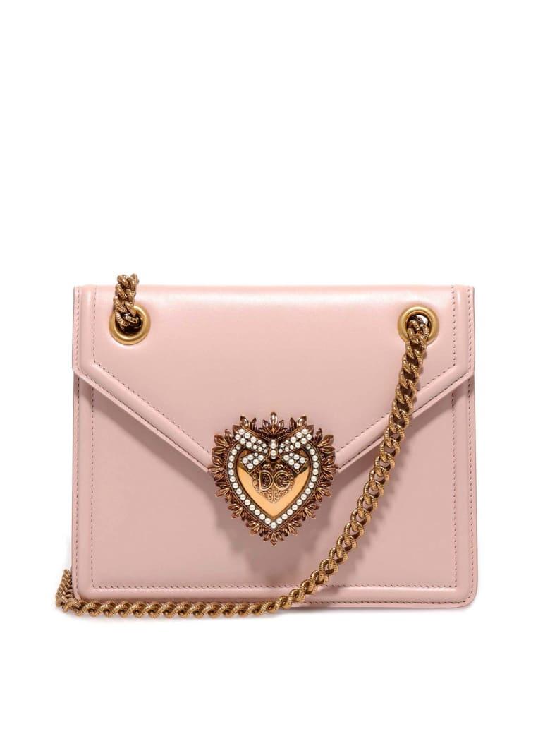 Dolce & Gabbana Devotion Shoulder Bag - Pink