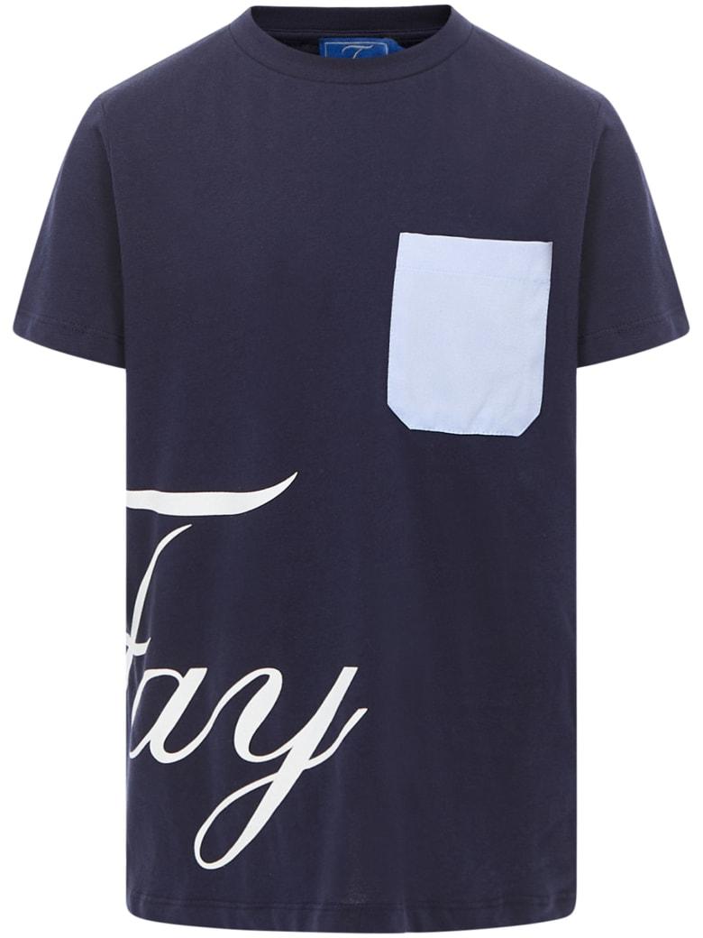 Fay Kids T-shirt - Blue