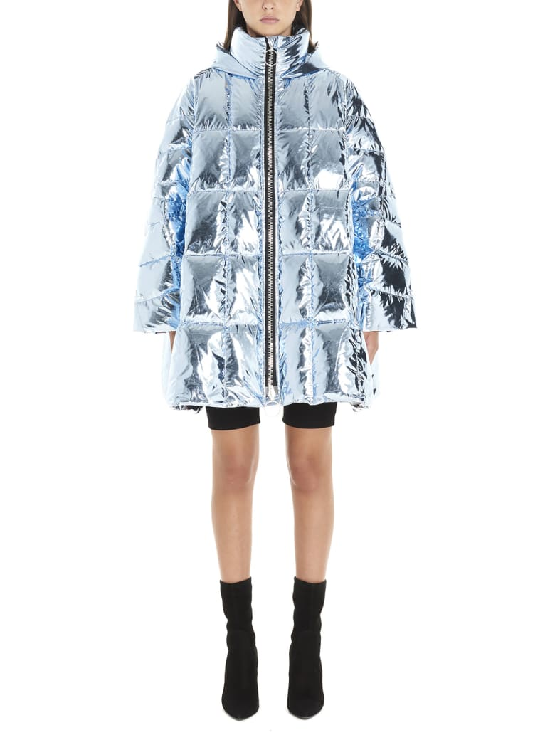 IENKI IENKI 'cropped Pyramide' Jacket - Light blue