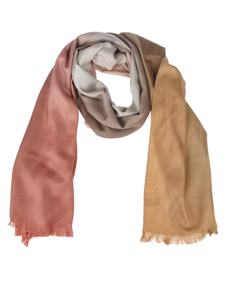 Paul Smith Pink Shaded Scarf - Multicolor