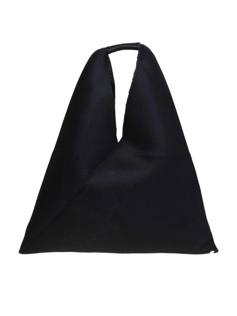 MM6 Maison Margiela Japanese Bag In Black Fabric - Black