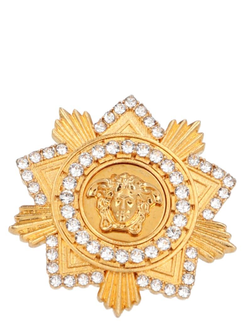 Versace 'medusa' Ring - Gold