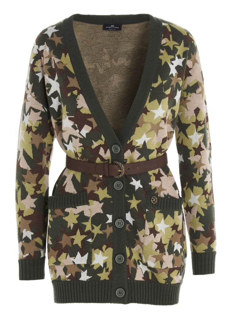 Elisabetta Franchi Celyn B. Sweater - Camouflage