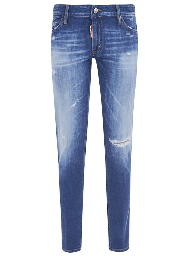 Dsquared2 Ripped Detail Jeans - 470