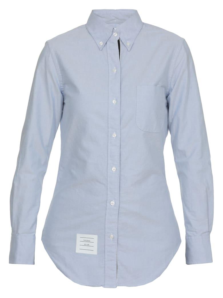 Thom Browne Button Down Shirt - LIGHT BLUE