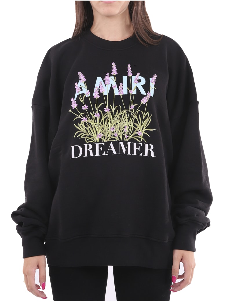 AMIRI Flower Dreamer Sweatshirt - Black
