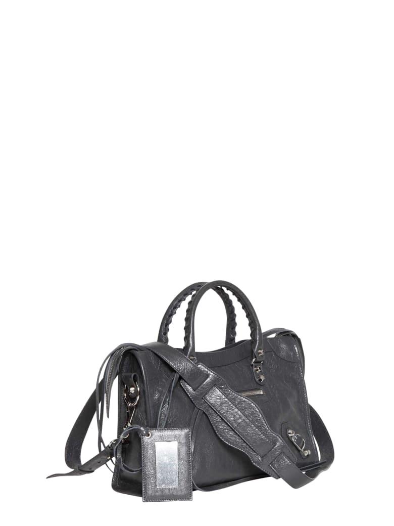 Balenciaga Claasic City S Bag - Grigio