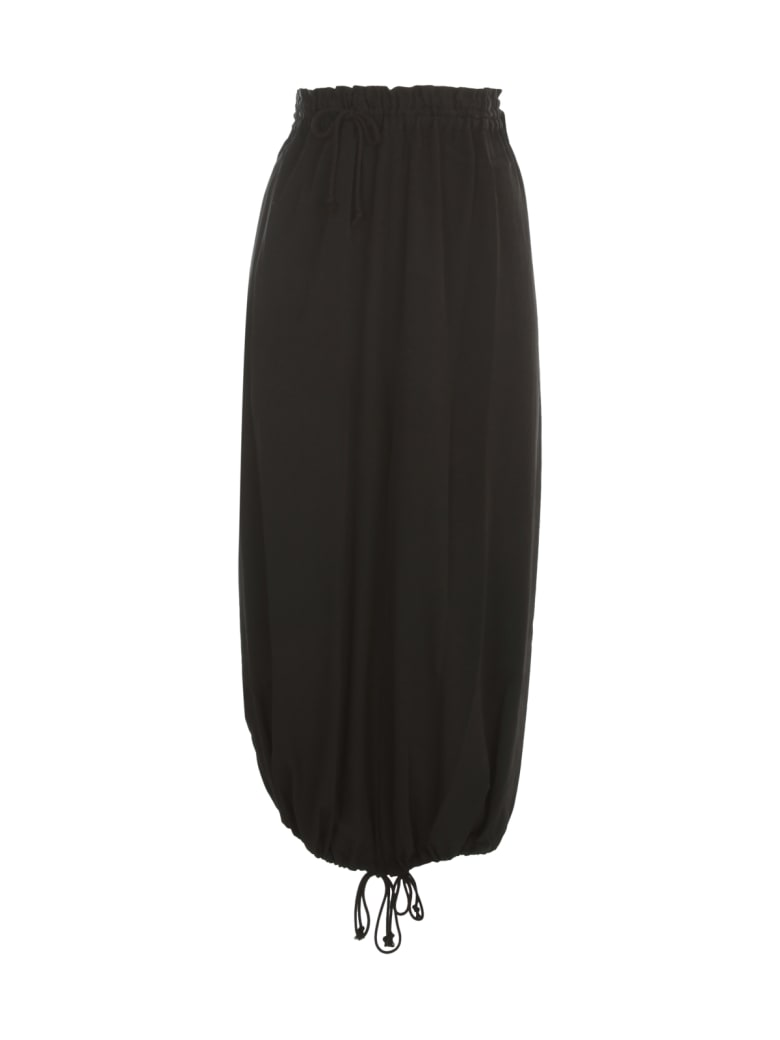 Y's Parachute Pants - Black