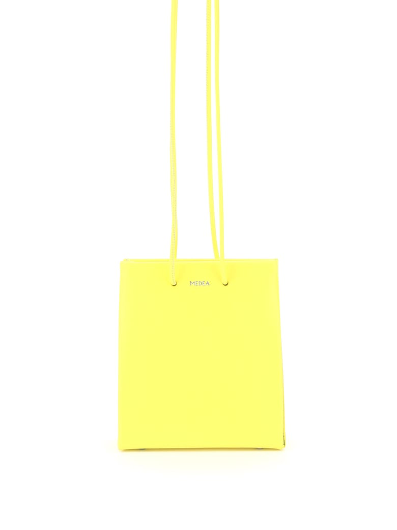 Medea Short Prima Bag With Long Strap - SAFETY YELLOW (Yellow)
