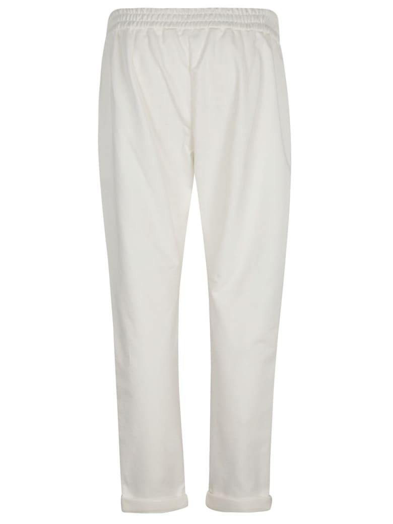 Brunello Cucinelli Drawstring Waist Track Pants - Bianco