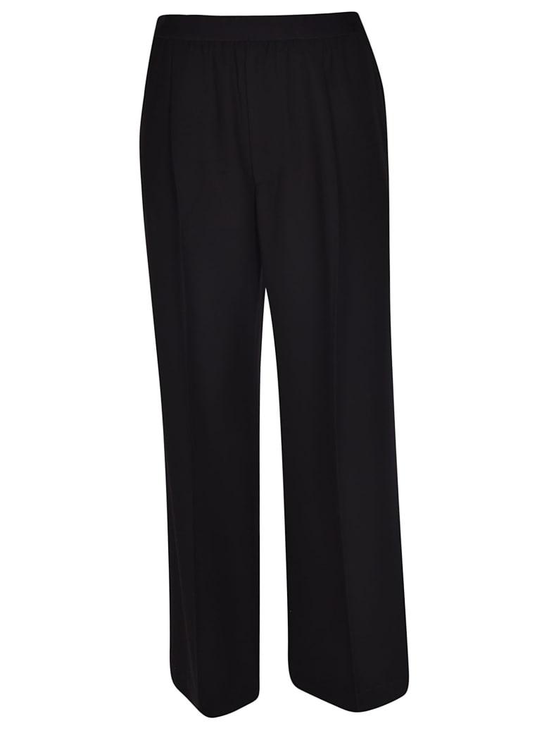 Erika Cavallini Flared Trousers - Black