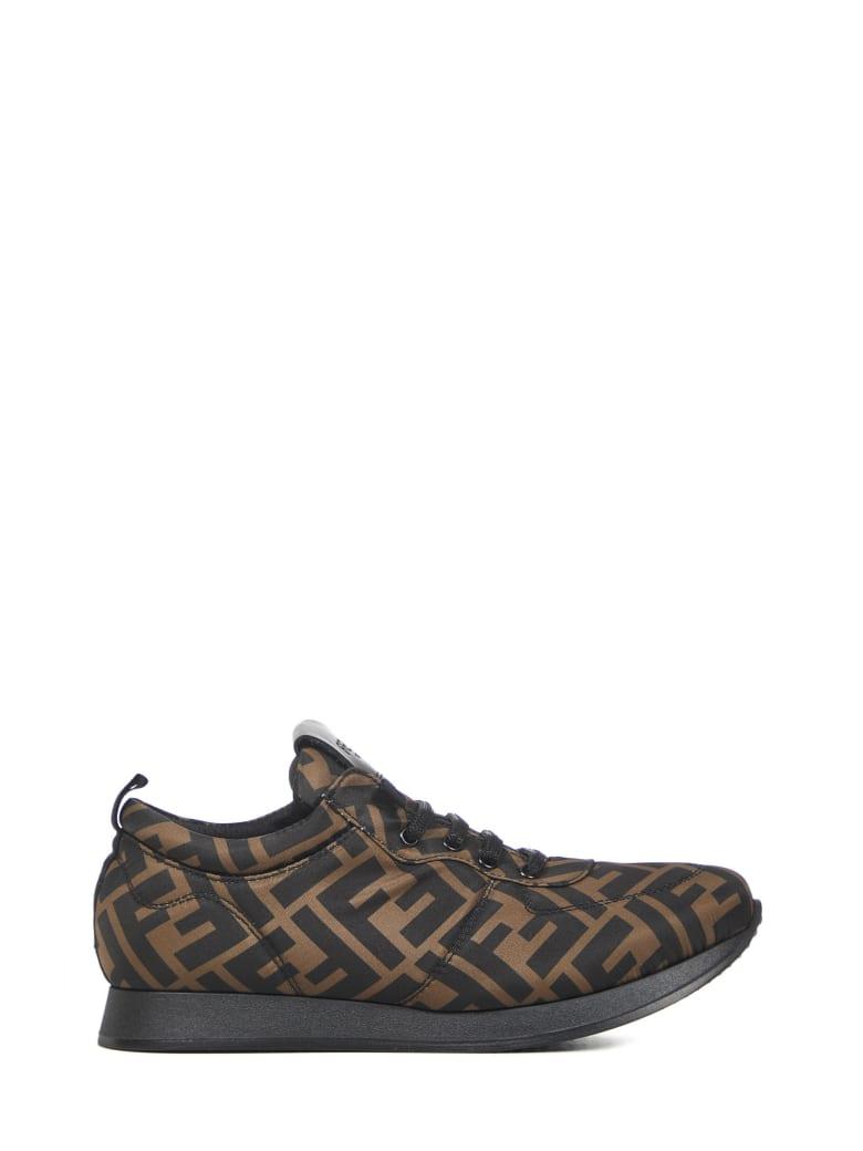 Fendi Kids Sneakers - Black