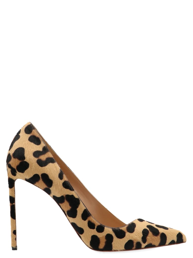 Francesco Russo 'leopard Pony' Shoes - Multicolor