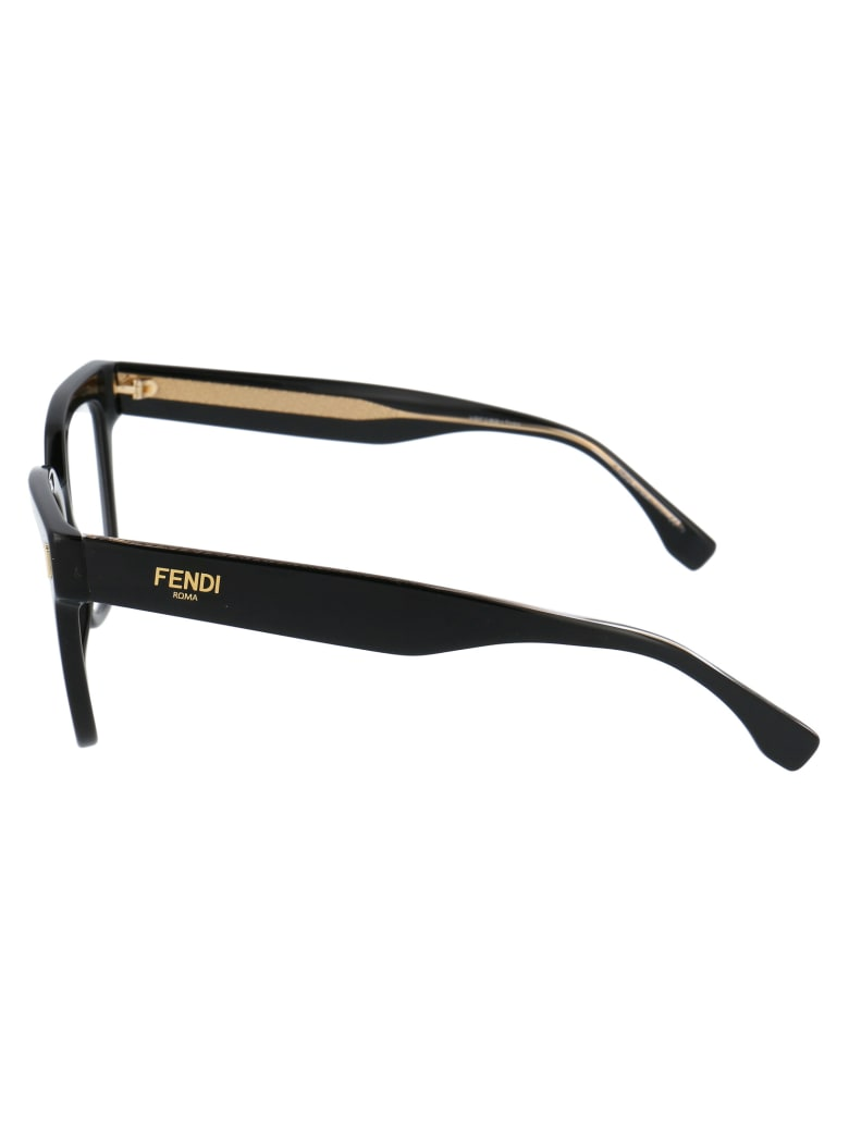 Fendi Ff 0463 Glasses - 807 BLACK