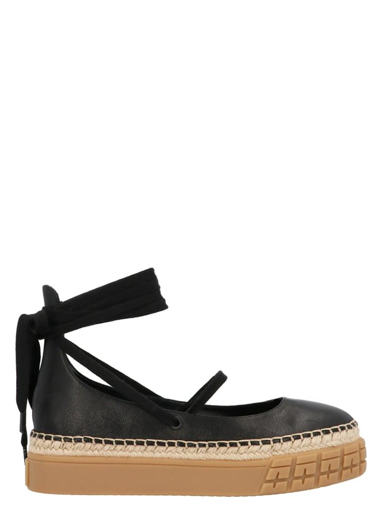Prada 'baby Laccio' Shoes - Black