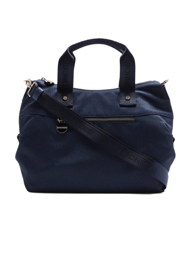 Borbonese Handbag Medium - Blu