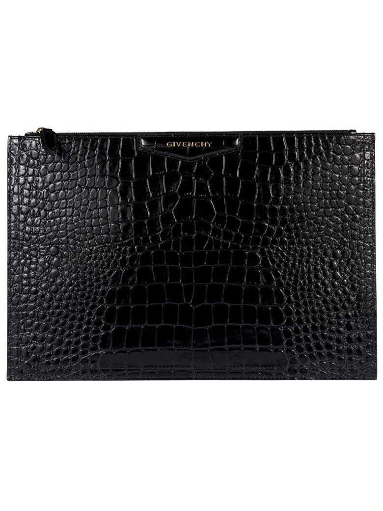 Givenchy Antigona Clutch - Black