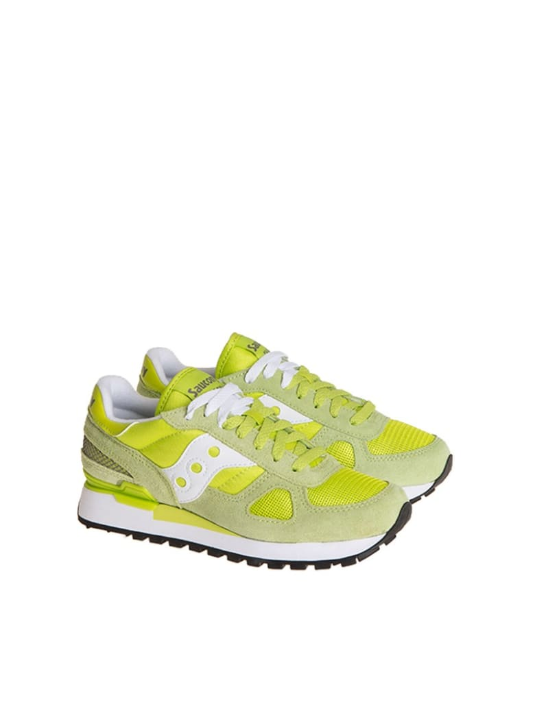 Saucony Shadow Original Sneakers - Green/Yellow
