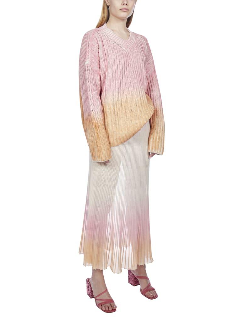 Jacquemus La Jupe Helado Lounge Skirt - Faded pink