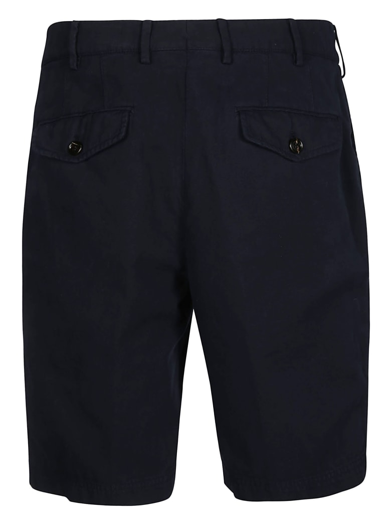 Brunello Cucinelli Plain Shorts - Blu