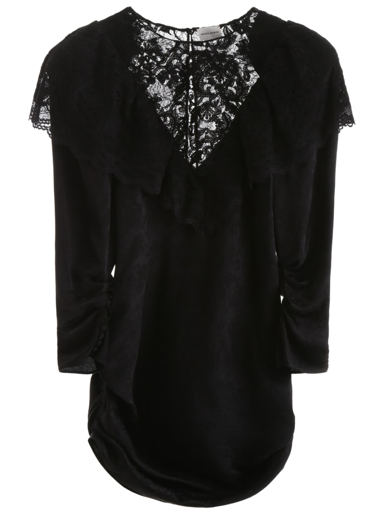 Magda Butrym Beja Mini Dress - BLACK (Black)